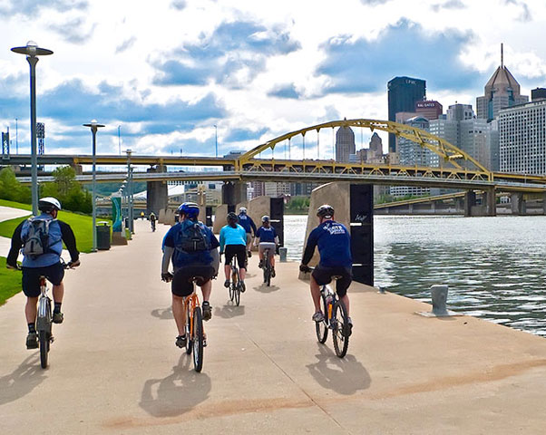 Image Thumbnail: Take a Guided Bike Tour of the Burgh! - Reserve Now!